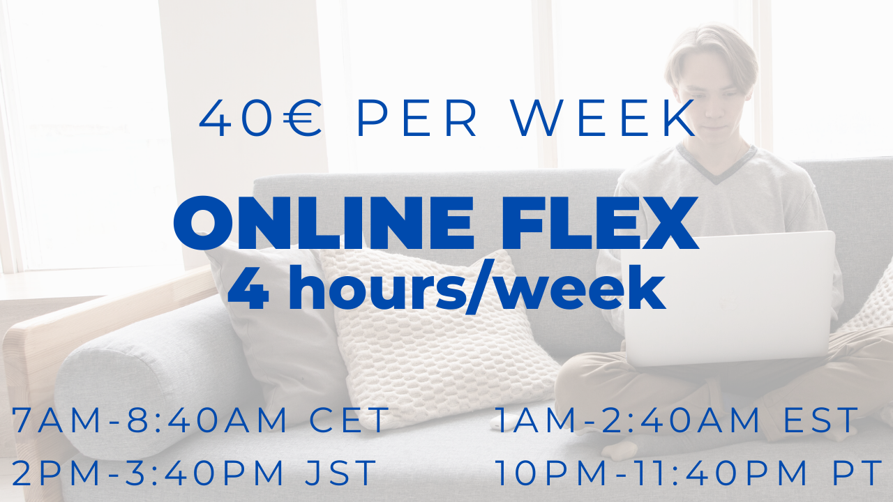 Online Flex Group Course